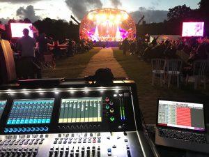 Sound Desk at Live Event